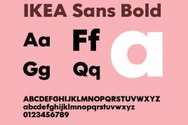 常见宜家广告字体 IKEA Sans 全系列英文字体