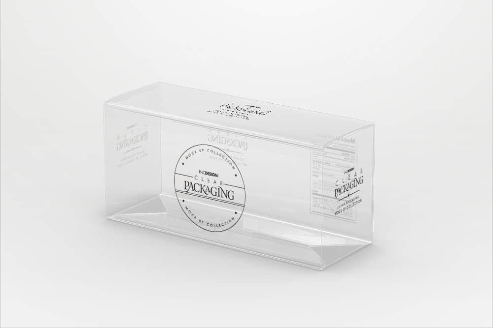 包装瓶样机化妆品透明塑料效果图智能贴图样机素材PSD模版