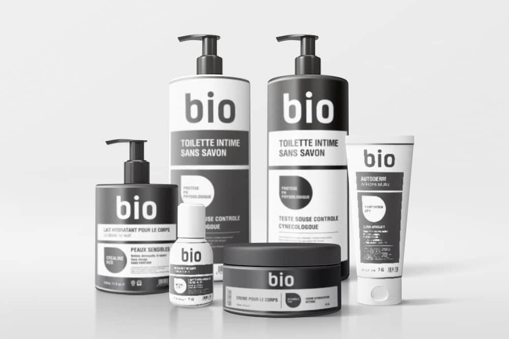 化妆品护肤品包装vi设计展示效果图智能贴图样机设计PSD素材模版