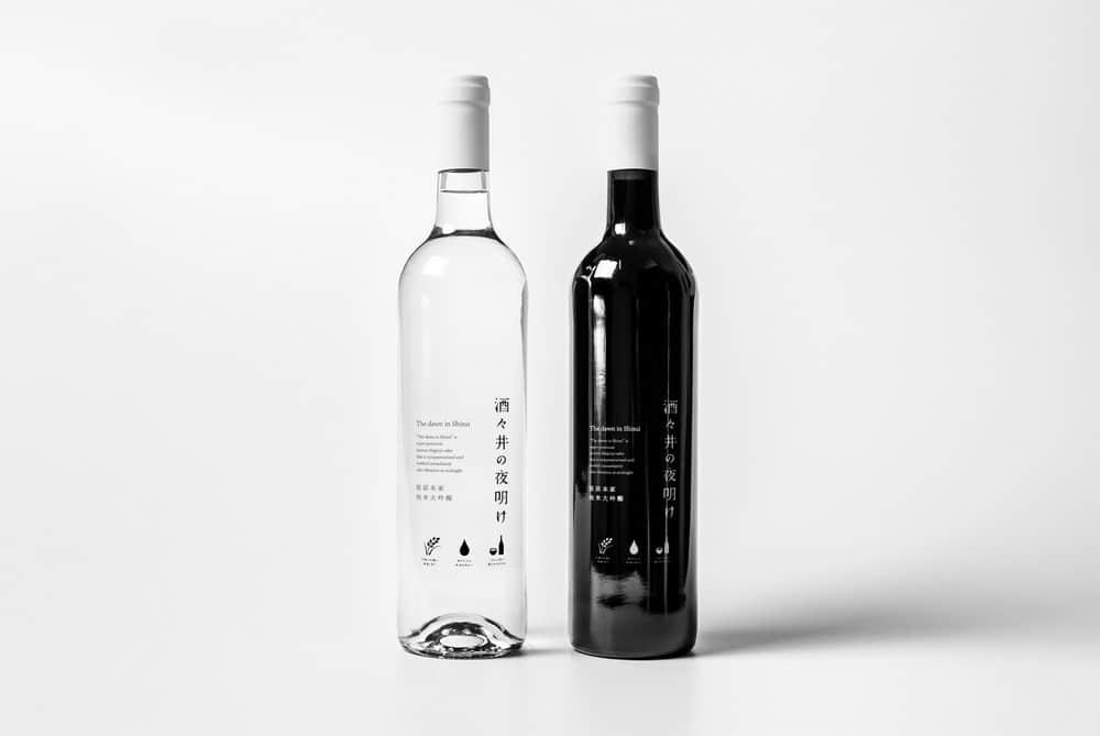 红酒包装效果图透明红酒瓶智能贴图香槟高脚杯透明玻璃瓶样机