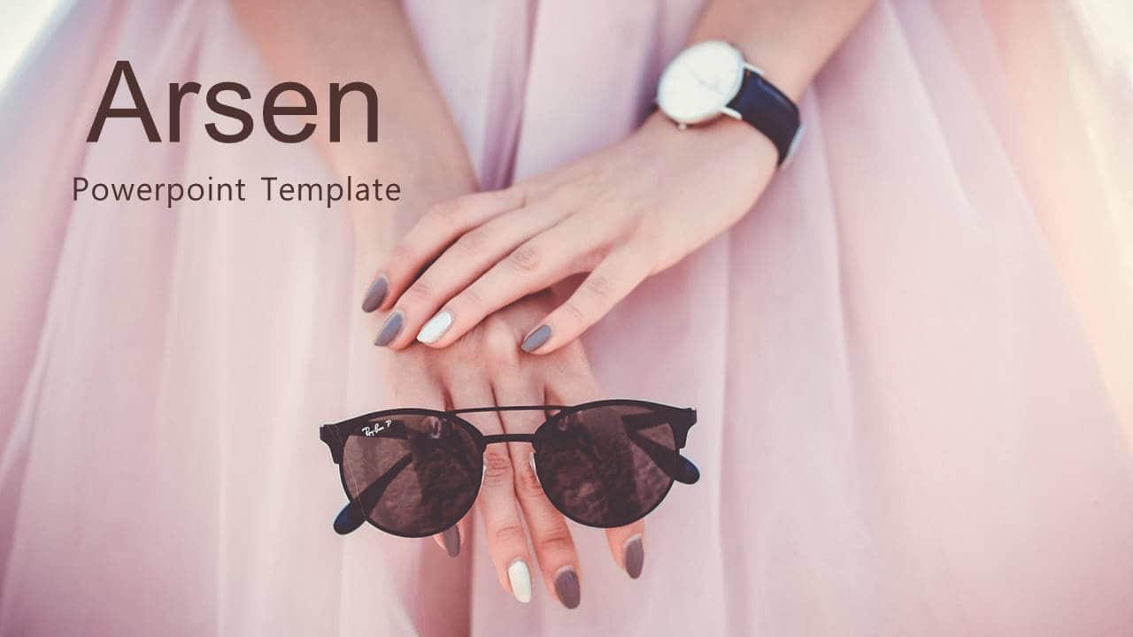 幻灯片模板Arsen欧美风格PPT版式设计