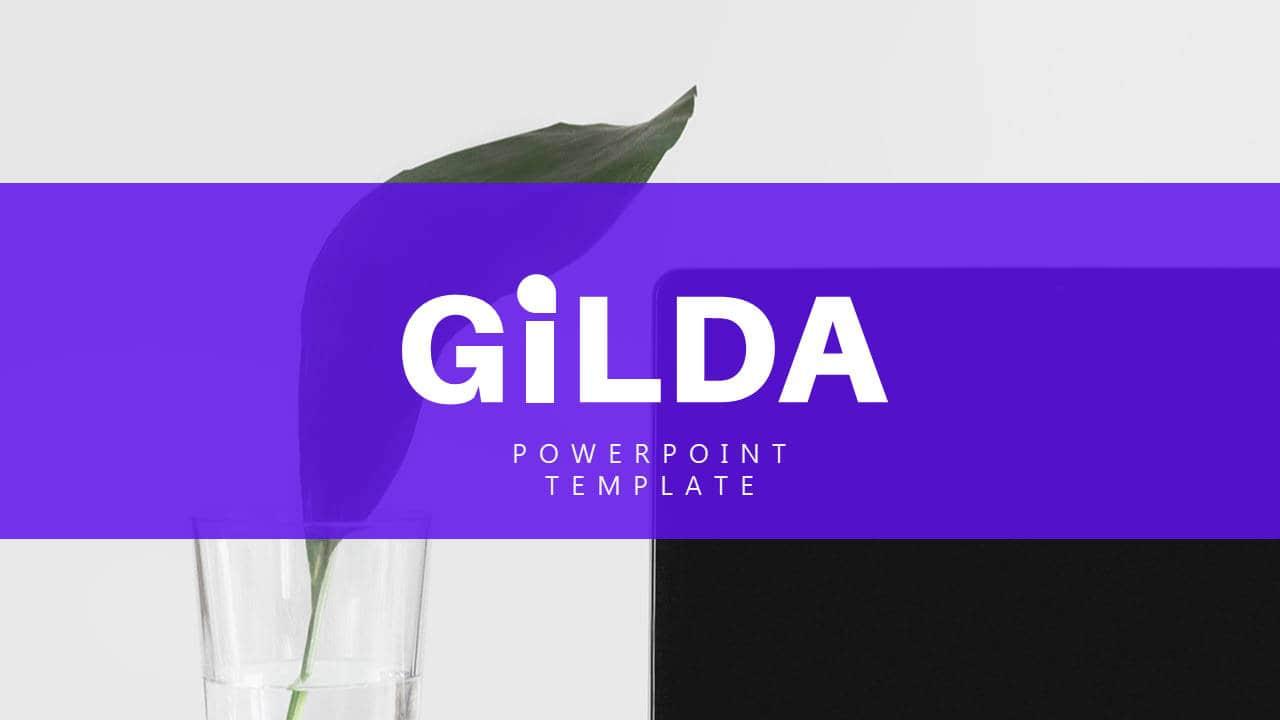 建筑设计类幻灯片模板Gilda简洁风格PPT版式设计