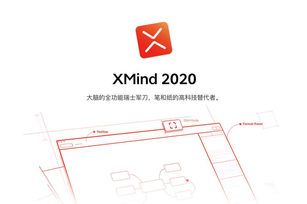 思维导图软件 XMind 2020 For mac v10.1.3 破解版 免费下载