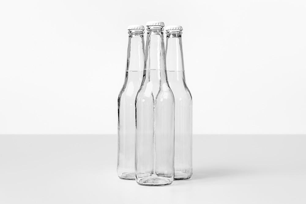 多角度全透明玻璃瓶psd智能贴图效果图全透明玻璃汽水瓶mockup模板